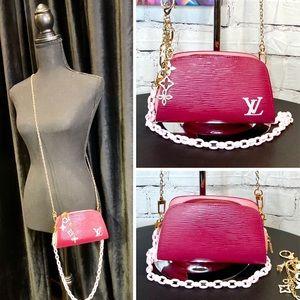 Louis Vuitton Epi pouch crossbody shoulder bag